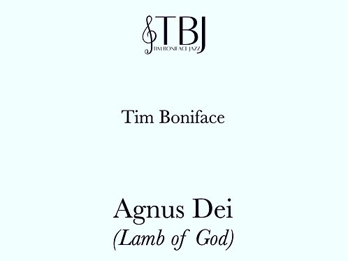 AGNUS DEI - Scores + license for 10 x parts
