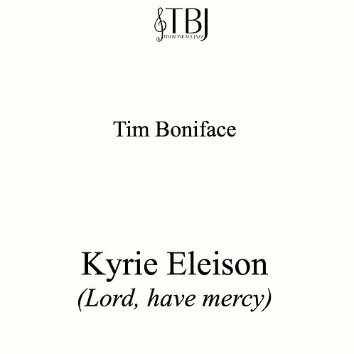 KYRIE ELEISON - Scores + license for 5 parts