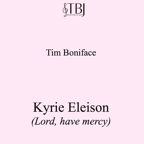 KYRIE ELEISON -  Scores + license for 20 x parts