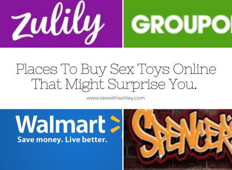 Places To Buy Sex Toys Online That Might Surprise You.