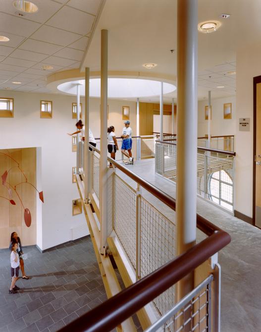 Upper Corridor Across Lobby
