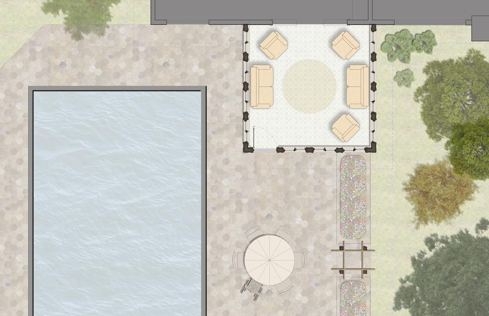 Sunroom Site Plan