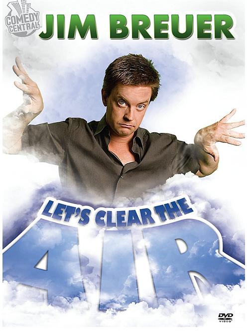 DVD - Jim Breuer : Let's Clear the Air