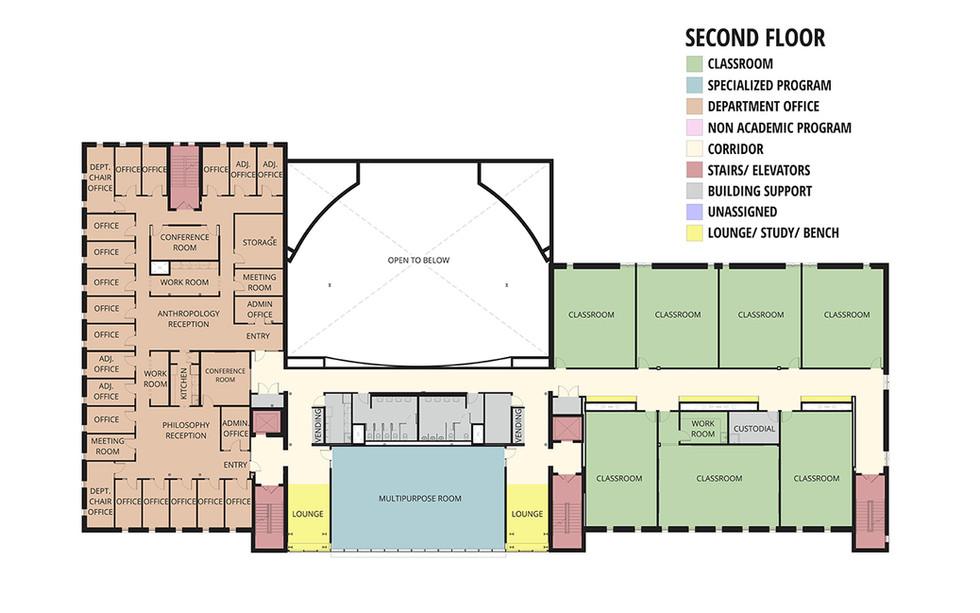 New Second Floor Plan