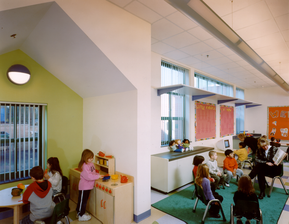 Classroom with Reading Nook