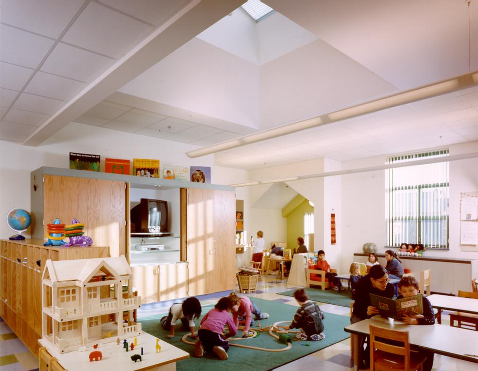 Classroom with Skylights