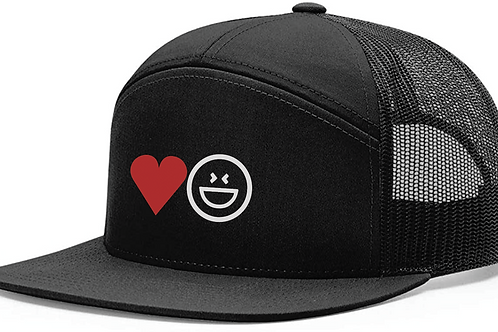 Love & Laughter Snapback 7-Panel Hat