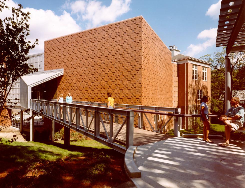 Entry Pavillion, Bridge & Black Box