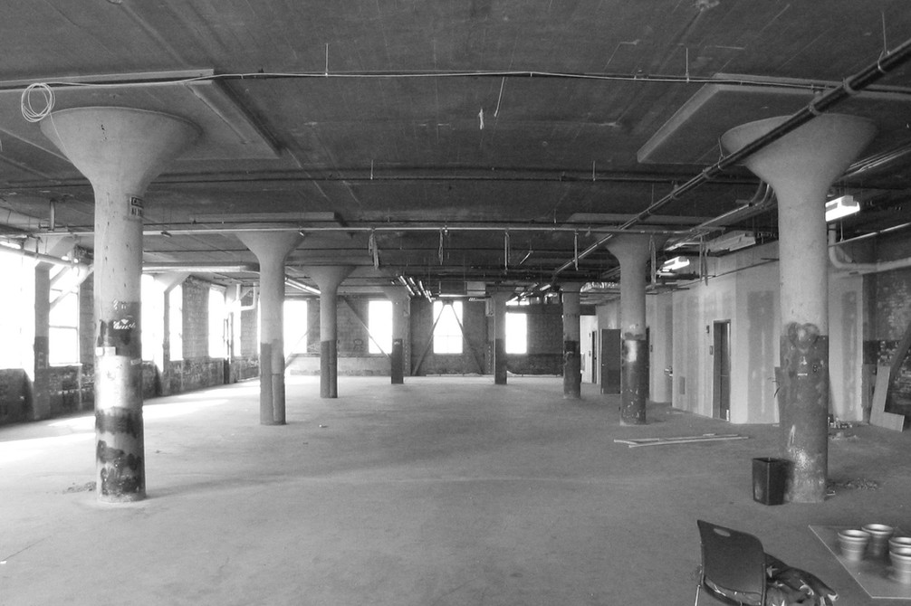 Existing Shell Space Prior to Renovation