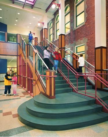 Monumental Stair at Entry Lobby