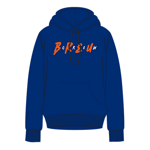 Breu Crew Blue Hood