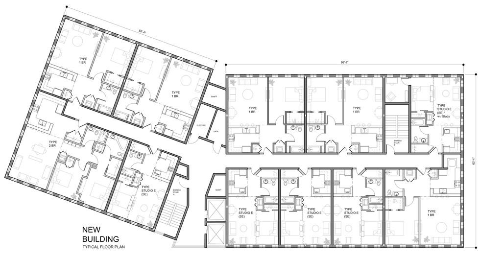 New Building Floor Plan
