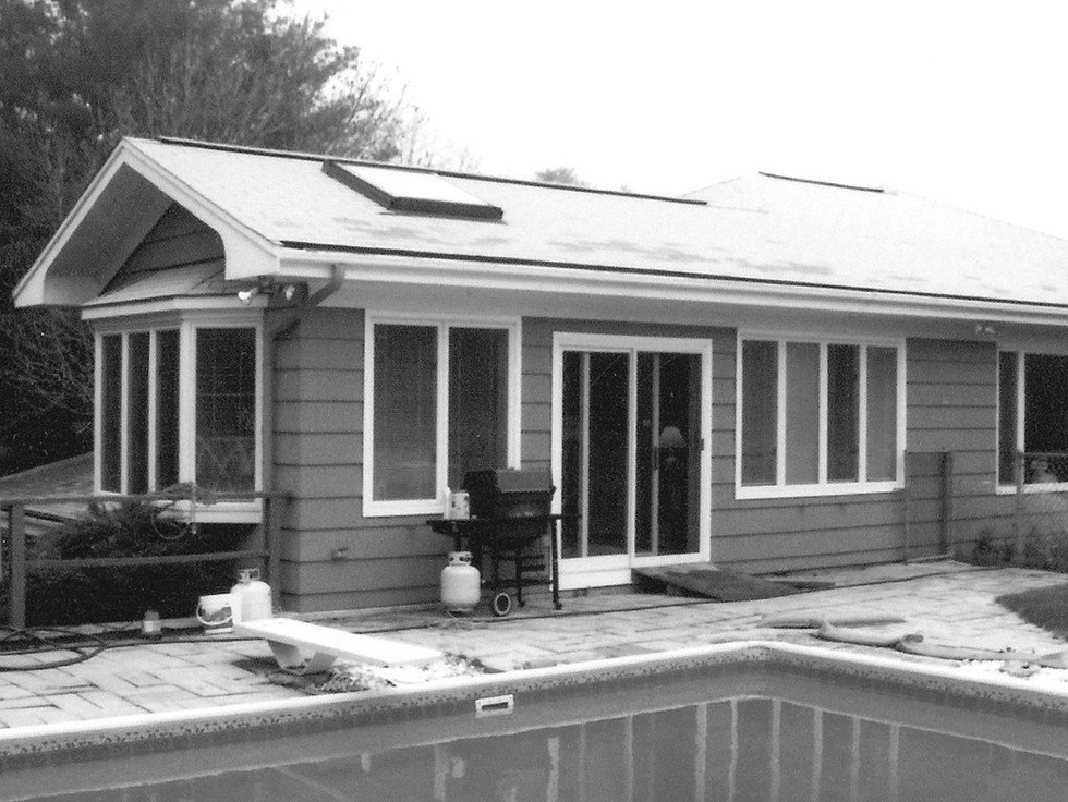 Existing House Before Addition