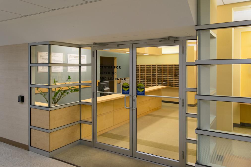 Main Entry Recption Desk