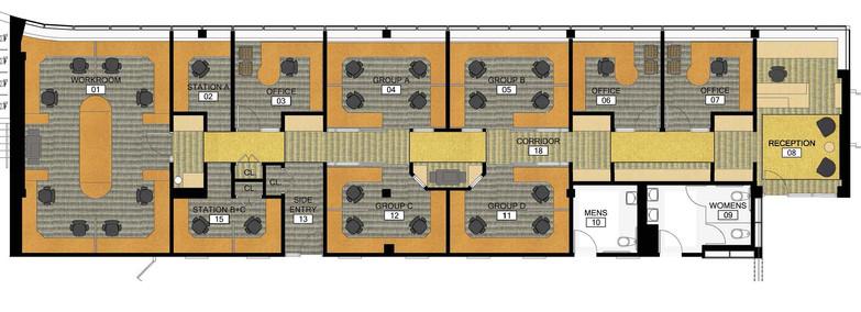 Suite Floor Plan