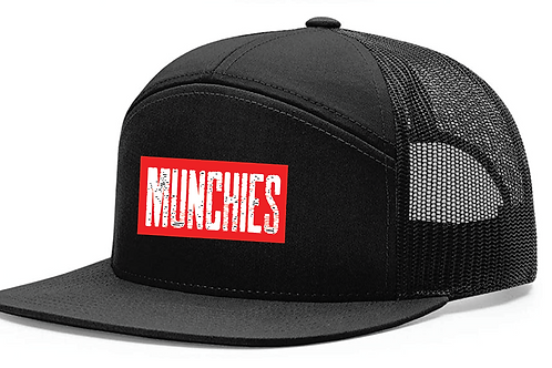Munchies Snapback 7-Panel Hat