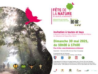 Fête de la nature du 31 mai 2021