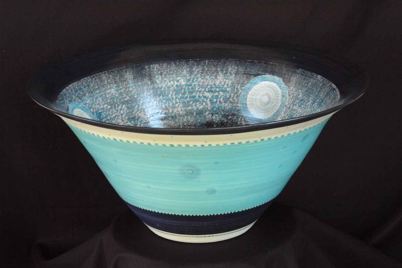coupe turquoise