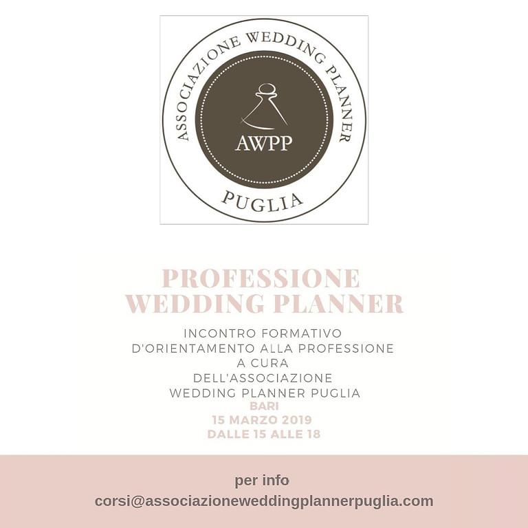 PROFESSIONE WEDDING PLANNER - GIORNATA ORIENTAMENTO