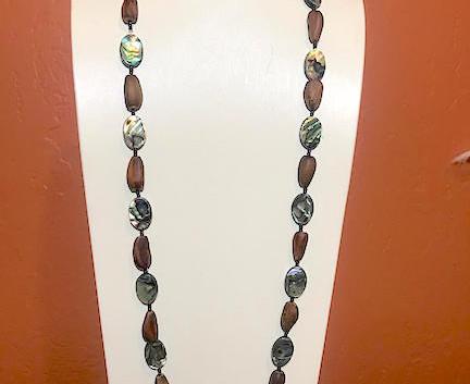 Ab Digger Pinenut Necklace