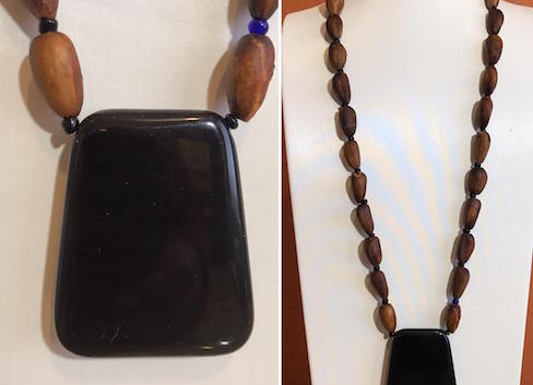 Digger Pine Onyx Pendant