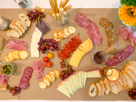 An Easy, Yet Epic Charcuterie Display