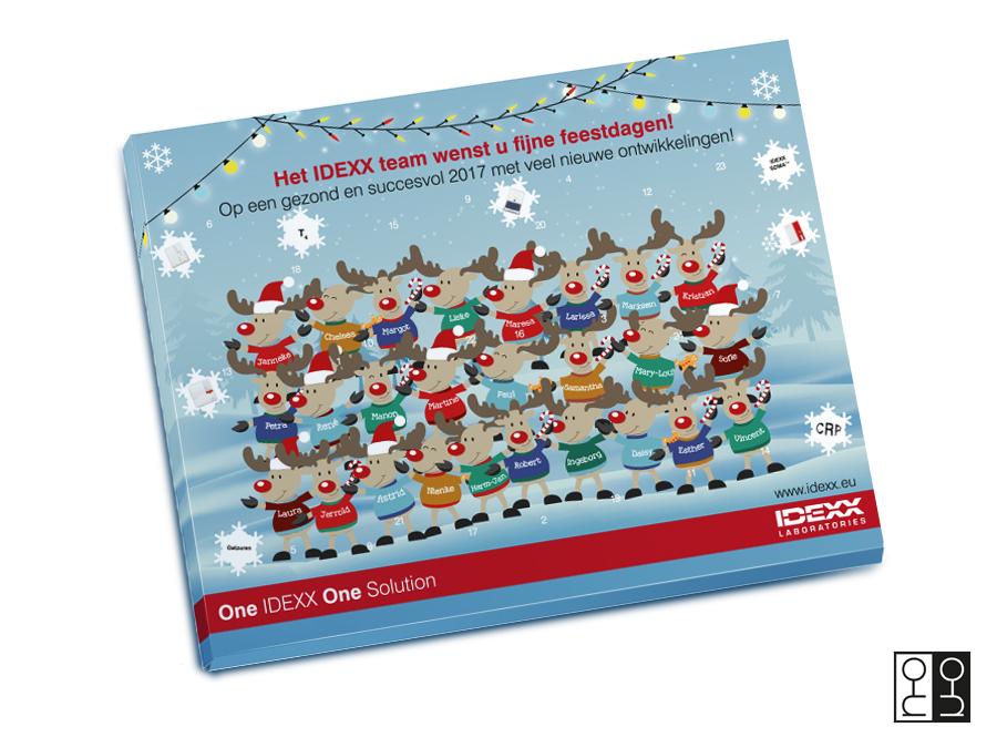 Ontwerp adventkalender