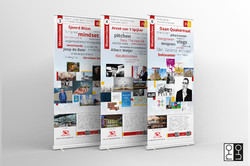 Ontwerp rol-up banners