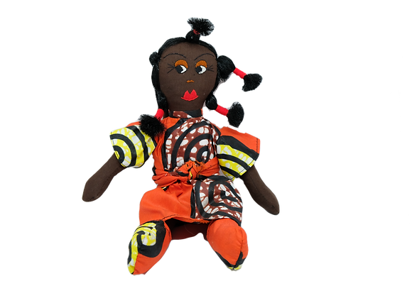 African Toy Doll