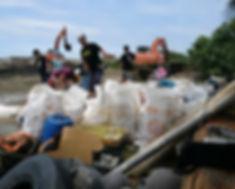 Subs Beach Clean Taiwan, Jandals, Thongs, Flip Flops