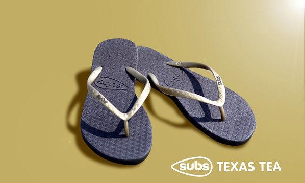 Subs Flip Flops - Texas Tea