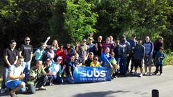 Subs Beach Clean Up Okinawa