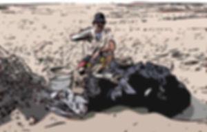 Subs Recycled Plastic Flip Flops, Beach Clean Up Taiwan Miaoli Da-An