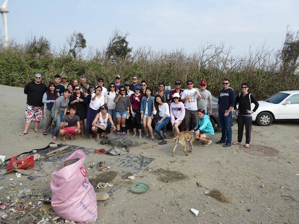 Subs Beach Clean Up Taiwan
