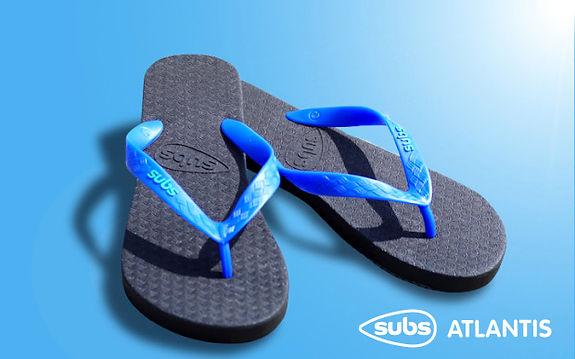Subs Flip Flops - Atlantis
