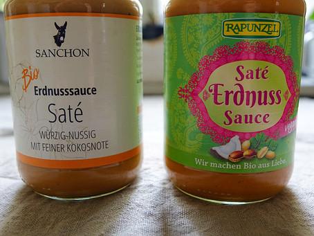 Which Peanut Sauce is Better?  Sanchon or Rapunzel?
