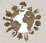 VeggieVillage Logo, VeggieVillage, Veggie World