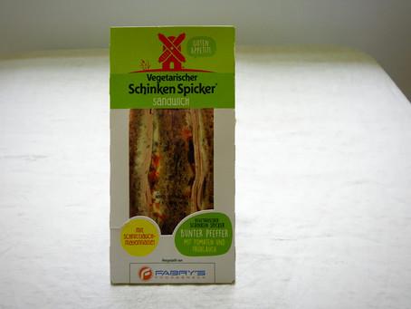 Rügenwalder Mühle Sandwich Vegetarischer Schinken Spicker Bunter Pfeffer - Vegetarian mix color pepp