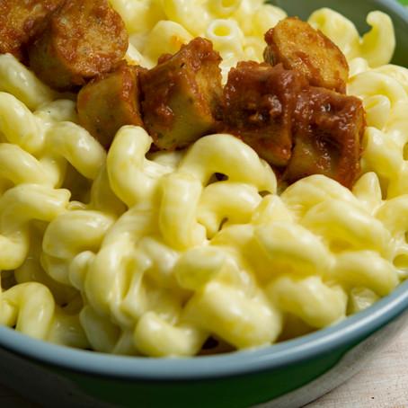 Currywurst Mac n Cheese