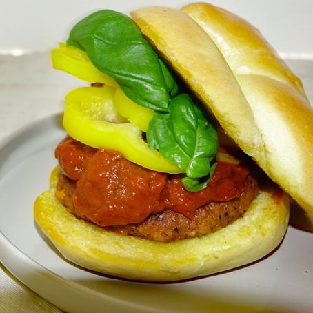 Vegini Burger - Powered with Pea Protein