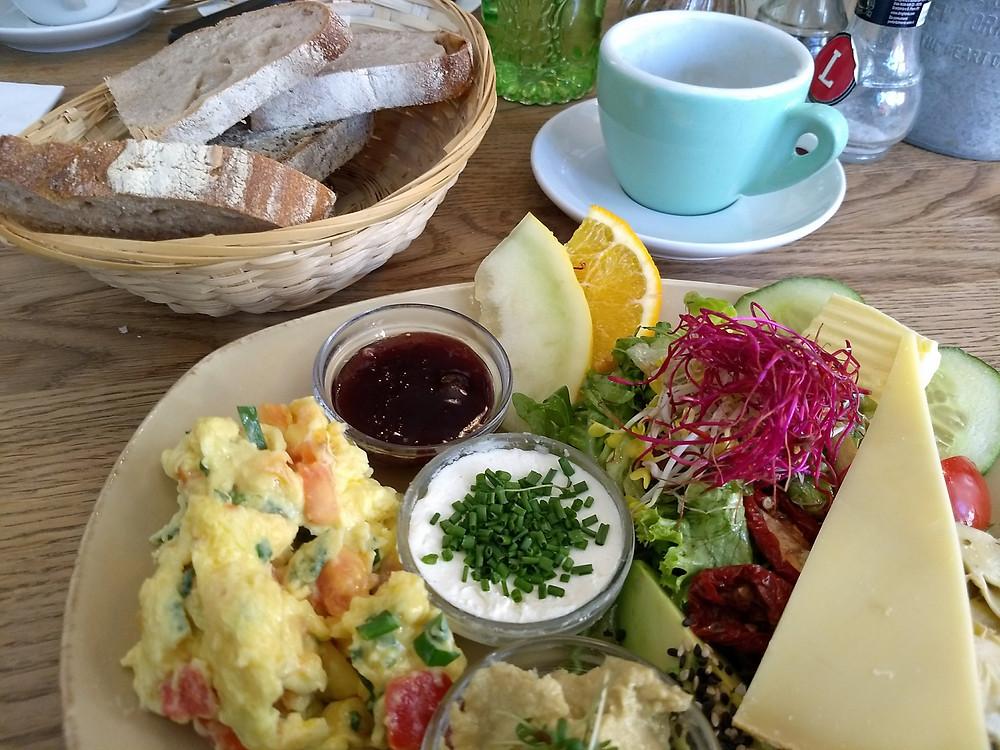 LuLa Vegetarian Breakfast