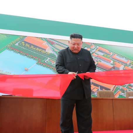 How did Kim Jong-Un return from a grave?