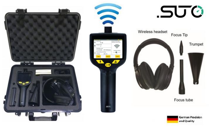 Ultrasonik hava kaçak sensörü
