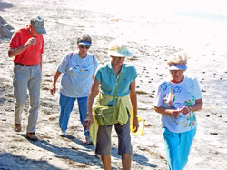 Carlsbad Beach - Walkers and Hikers1 - 9-14-07