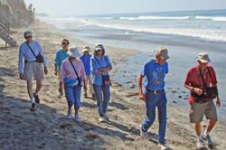 Carlsbad Beach - Walkers and Hikers - 9-14-07