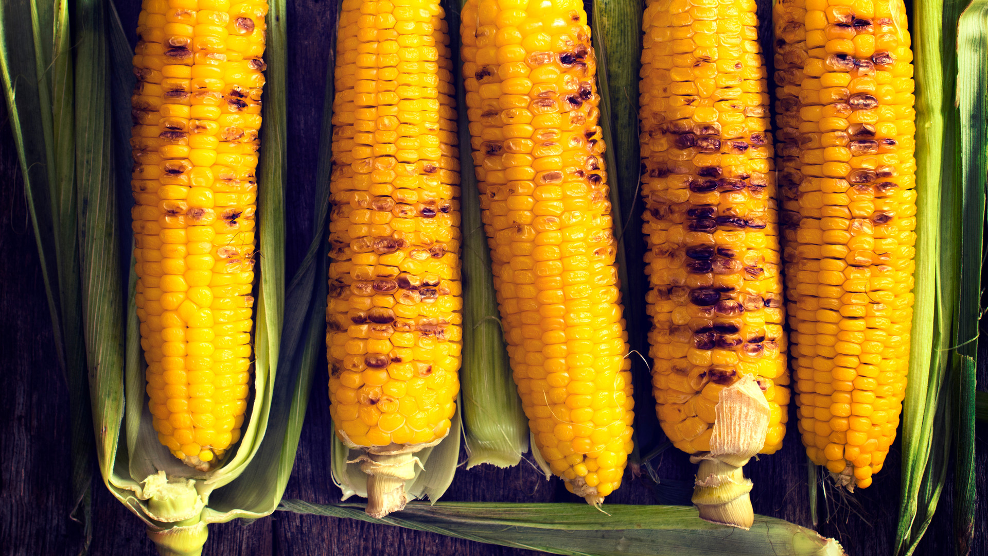 Summer/Autumn - Roasted Sweet Corn