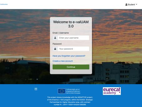 Discover e-valUAM 3.0!