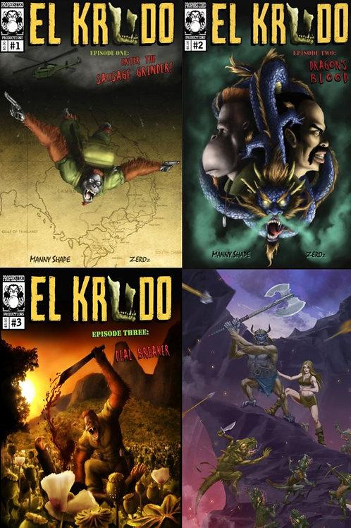 El Krudo Episodes 1-4 Combo Pack!