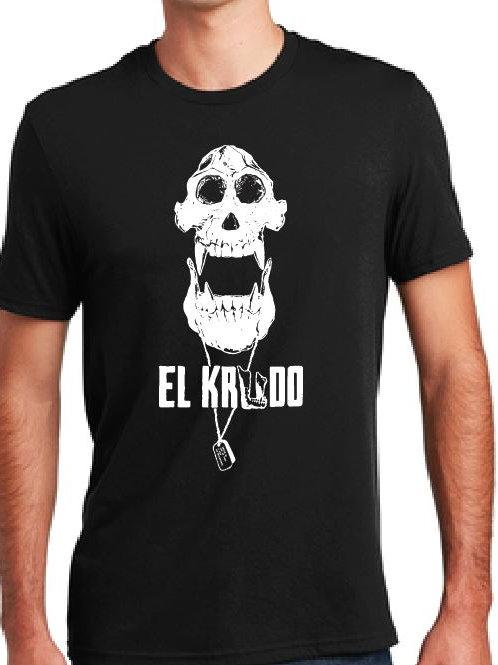 El Krudo T-Shirt _Skull Variant