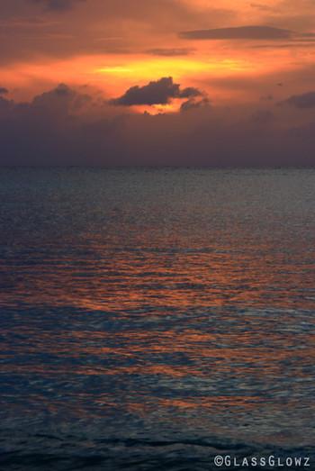 Mexico Blue Ocean Sunset